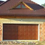 Garážová brána drevená